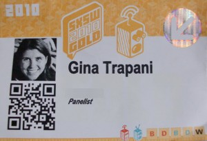 QR Code on business card - example 2