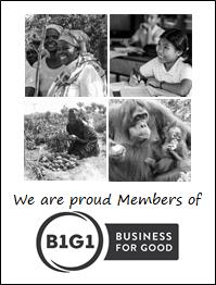 GetAhead Consulting is a lifetime member of B1G1 Business for Good